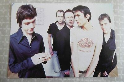 Suede, Everything Will Flow,  promotional postcard, 1999