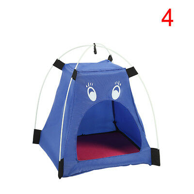 Oxford Portable Pet Dog Cat Kennel Puppy House Bed Tent Folding Cartoon House