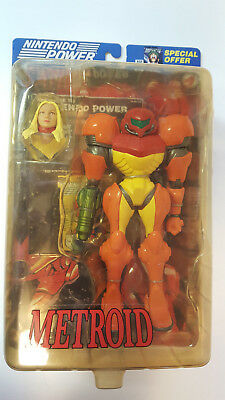 Nintendo Power Presents Metroid Samus Action Figure NIP RARE