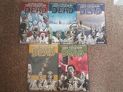 The walking dead comic volume 1 To 5 - 1 2 3 4 5