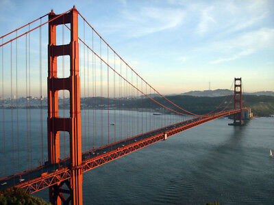 Golden Gate Bridge (USA) - Office Photo, Photograph Picture - 1p Auction AAA-04