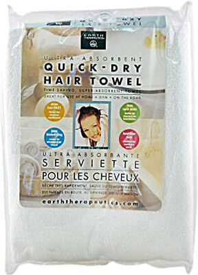 Ultra-Absorbent Quick Dry Hair Towel, Earth Therapeutics, 1 piece