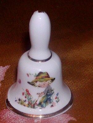 Miniature Bone China Bell, Made In England, 2""