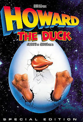 Howard The Duck Special Edition New Sealed DVD Marvel George Lucas 1980 Movies
