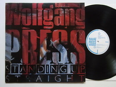 LP: Wolfgang Press: Standing Up Straight (+ Beilage; 4AD CAD 606)
