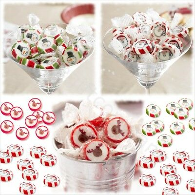 Santa/Rudolf/Snowman Christmas Rock Retro Sweets Stocking Fillers Party Favours