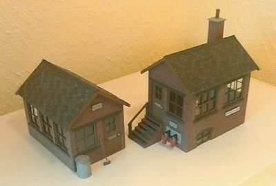 2 X Lgb G Gauge Scale Resin Signal Box Kits Brand New & Unbuilt In Bag Diorama