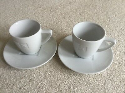 Set Of Two Nespresso Cups And Saucers