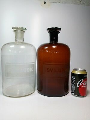 Vintage Photography Storage Bottles Darkroom Chemical Industrial Studio Decor