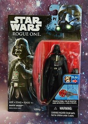 NEW Star Wars ROGUE ONE Figure DARTH VADER HASBRO 3.75 Disney NISP