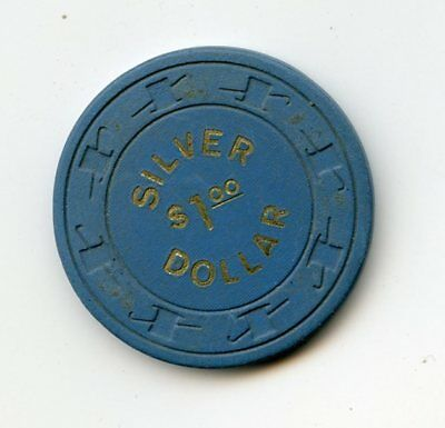 1.00 Chip from the Silver Dollar Casino in Las Vegas Nevada