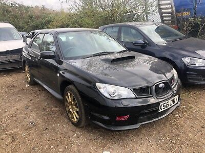 2006 Subaru Imreza 2.5 Wrx Sti Widetrack Hawkeye Dccd - Light Damage - Driveaway