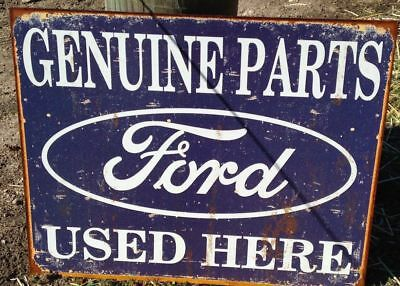 Ford Parts Service Center  Metal Ad Sign Picture Garage Shop Man Cave Decor Gift