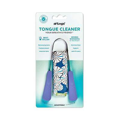 NEW Dr Tung's - Stainless Steel Tongue Cleaner