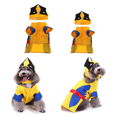 Wolverine Funny Dog Cat Costumes Halloween Christmas Cosplay Dress Adorable