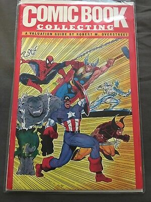 COMIC BOOK COLLECTING A Valuation Guide OVERSTREET 1991 ORIGINAL VALENTINO COVER