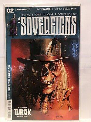 The Sovereigns #2 Cover A NM- 1st Print Dynamite Comics
