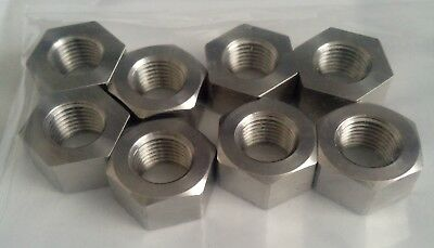 Pack of 8, 3/8 CEI Stainless 26tpi Full Nuts, cycle, bscy, bsc
