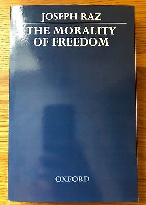 Joseph Raz, The Morality of Freedom (OUP, Clarendon) Paperback book *NEW*