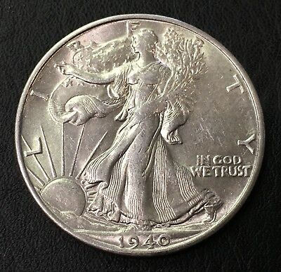 1940-S Walking Liberty Half Dollar 50C - No Reserve