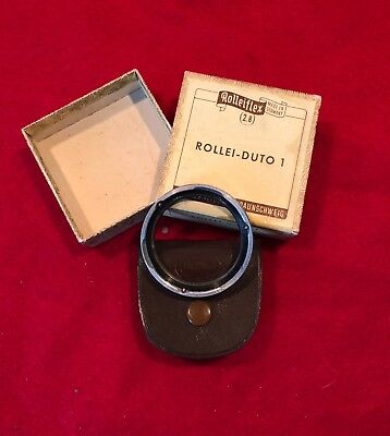Original Rolleiflex Duto-1 (soft focus) for 2,8 w/Case and Original Box