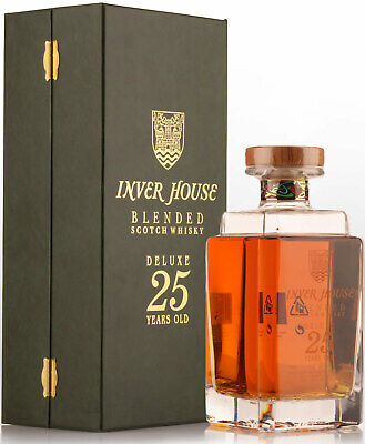 Inver House Deluxe 25 Year Old Blended Scotch Whisky (700ml)