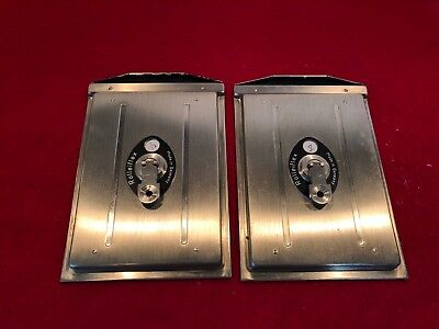 Nice Pair of Vintage Rollei Rolleiflex Plate Holders w/slides.