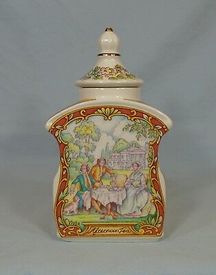 Sadler Canister England Afternoon Tea 6.5""