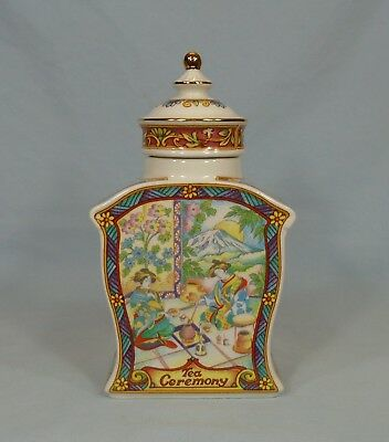Sadler Canister England Tea Ceremony 6.75""