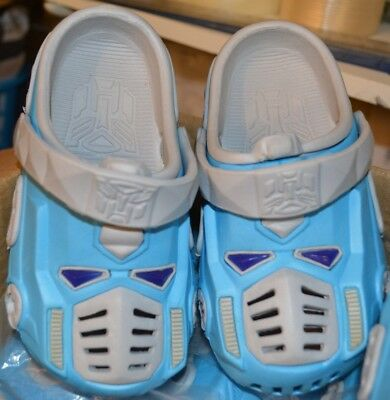Wholesale Joblot of 39 Pairs of Boys Transformers Style Beach Water Shoes Clogs