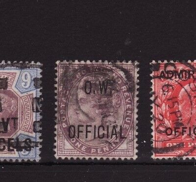 Great Britain Scotts #O45 O.W. Official used