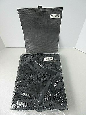"Lot of 60 Sheets of Darice  BLACK Plastic Canvas 10 Mesh 10.5"" x 13.5"" NOS USA"