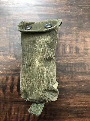 Vietnam War Era USGI Accessory/cleaning Kit Pouch Used