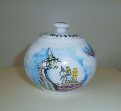 Paul Cardew Wizard of Oz Flying Monkeys Sugar Bowl & Lid  Witch Dorothy Toto too