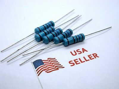 3W 3 Watt 1% Tolerance Metal Film Resistor (5 Pieces) USA SELLER