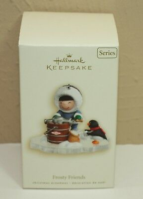 2007 Hallmark Ornament FROSTY FRIENDS 28th in Series MIB