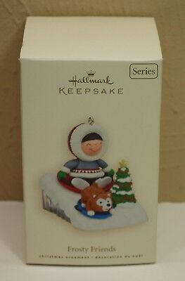 2008 Hallmark Ornament FROSTY FRIENDS 29th in Series MIB