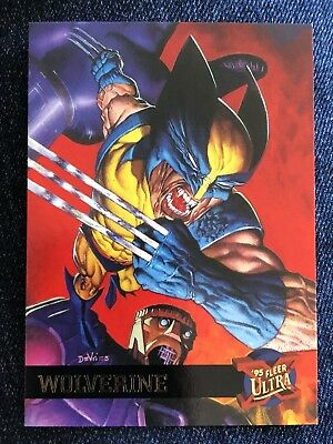 1995 Fleer Ultra Marvel X-Men Card #52 Logan