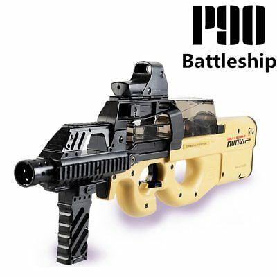 P90 Electric Toy Gun Automatic Water Bullet Bursts Orbeez Rifle like nerf gun