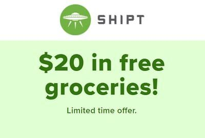 Shipt - $20 Off on Grocery (For New Customers)