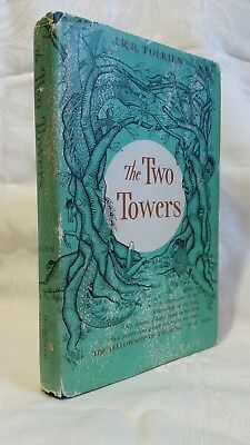 The Two Towers by J.R.R. Tolkien, 1st Am Early Printing ~ The Lord of the Rings