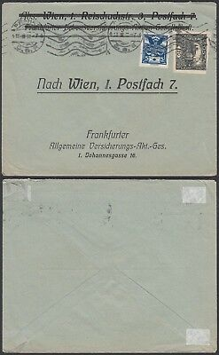 Czechoslovakia  - Used cover and used stamps to Austria ........(3G-37645) B6509