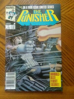 PUNISHER #1 ( Limited Series) NM + Canadian Newsstand Price Variant White Pages.