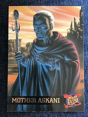 1995 Fleer Ultra Marvel X-Men Card #31 Mother Askani