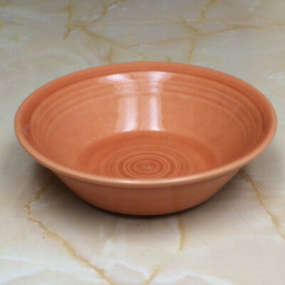Vintage Metlox Poppytrail Colorstax Coupe Cereal Bowl in Apricot