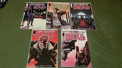 The Walking Dead #72 73 74 75 76 NM/NM+ to VF, All 1st Print - Free Shipping
