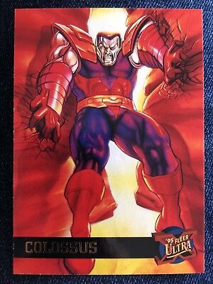 1995 Fleer Ultra Marvel X-Men Card #11 Colossus