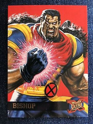 1995 Fleer Ultra Marvel X-Men Card #6 Bishop