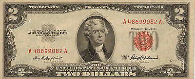 1953-A US Notes, Red Seal, High Grade Note (Z-17)