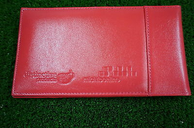 Miclub Pink leather golf autoscore cardholder - Original and still the Best